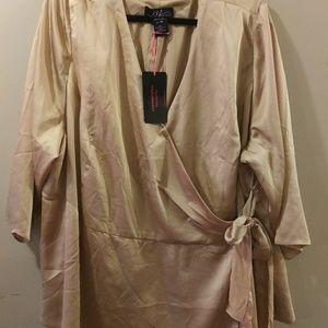 Midnight Velvet Dresses - Women's Plus Size 3X Blouse